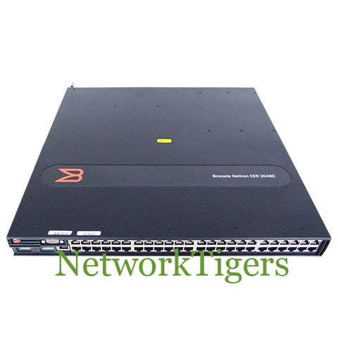 Brocade NI-CER-2048C-AC CER 2000 SERIES 48x Gigabit Ethernet 4x 1G SFP Switch