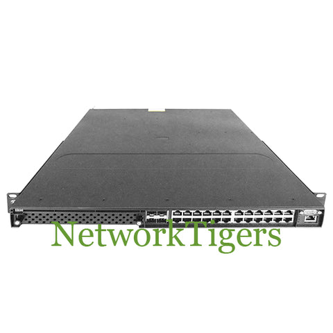 Brocade NI-CES-2024F-AC CES 2000 Series 24x Gigabit SFP 4x 1G Combo Switch