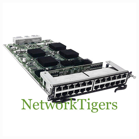 Brocade SX-FI424P 24x Gigabit Ethernet RJ-45 PoE Switch Module