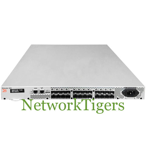 Brocade 300 Series 24x 8 Gigabit Fibre Channel (8x Active) Switch