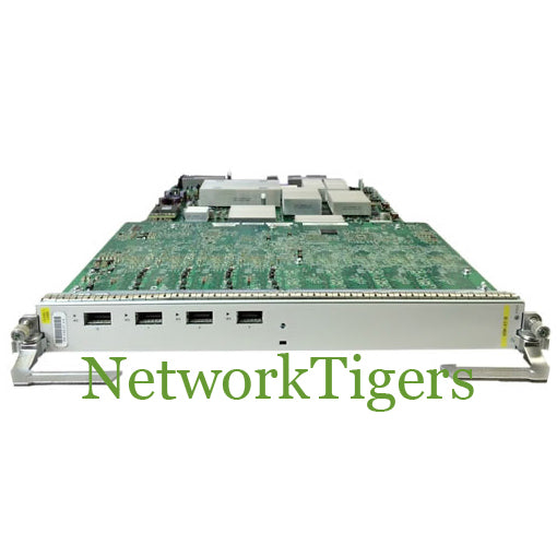 Cisco A9K-4T-B ASR 9000 4 Port 10 Gigabit Medium Queue Line Card - NetworkTigers