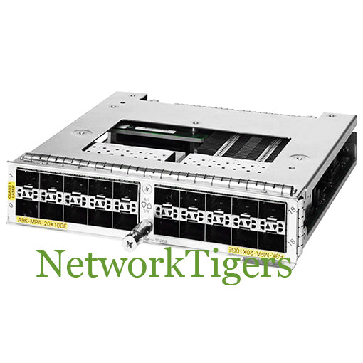 Cisco A9K-MPA-20X10GE ASR 9000 Series 20x 10 Gigabit Ethernet SFP+ Router  Module