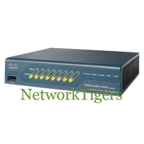 Cisco ASA5505-SEC-BUN-K9 ASA 5505 Series UNLIMITED Nodes Firewall w/Sec Plus - NetworkTigers