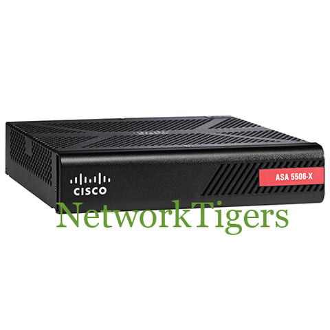 Cisco ASA5506-SEC-BUN-K9 ASA 5506-X w/ Sec Plus License HA 3DES/AES Firewall - NetworkTigers