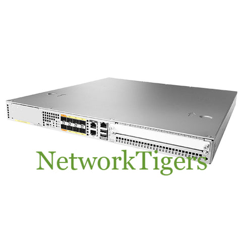 Cisco ASR1001X-20G-K9 ASR 1000 Series 6x 1G SFP 2x 10G SFP+ 1x NIM 1x SPA Router