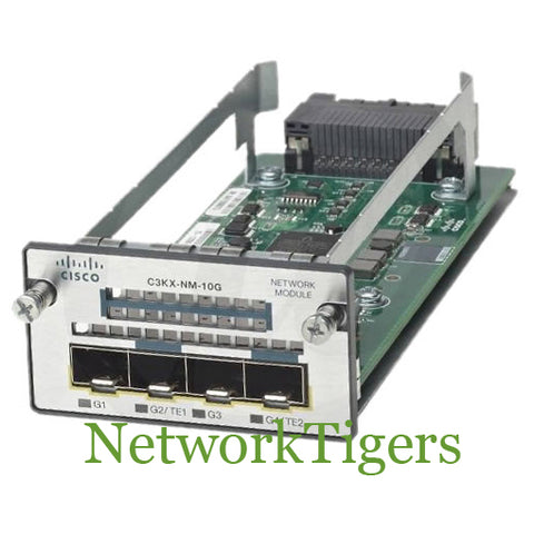 Cisco C3KX-NM-10G C3560X Series 2x 10G SFP+ 2x 1G SFP Switch Module