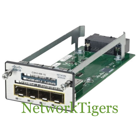 Cisco C3KX-NM-1G 3750X Series 4x Gigabit Ethernet SFP Switch Module