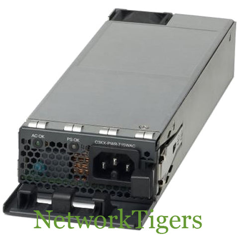 Cisco C3KX-PWR-350WAC Catalyst C3750X/3560X 350W AC Switch Power Supply
