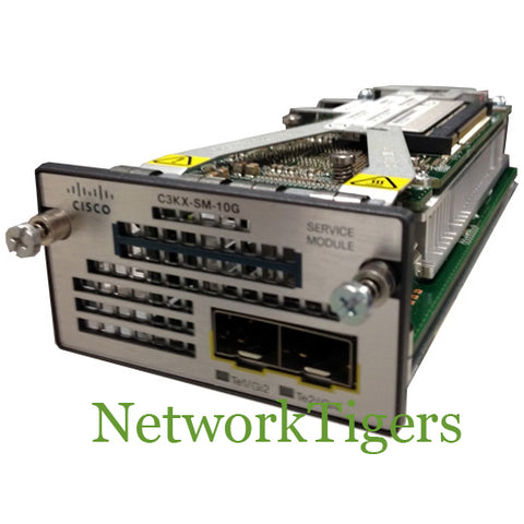 Cisco C3KX-SM-10G Catalyst 3560X Series 2x 10 Gigabit SFP+ Switch Module