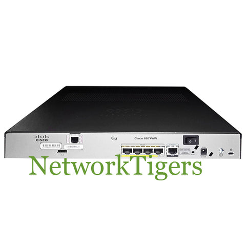 Cisco C887VA-W-A-K9 880 Series ISR 887VA w/ VDSL2/ADSL2+ over POTS Router