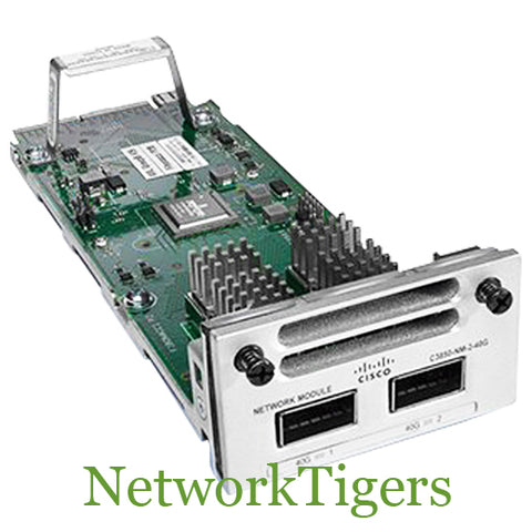 Cisco C9300-NM-2Q C9300 Series 2x 40 Gigabit Ethernet QSFP+ Switch Module