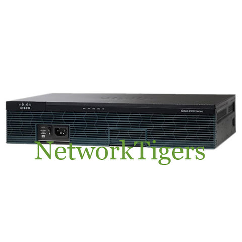Cisco 2911-DC/K9 ISR 2900 Series 3x GE 3x USB 1x RJ-45 Serial (DC) Router