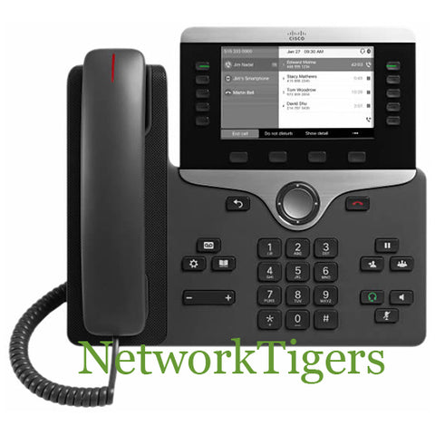 Cisco CP-8811-K9 Grayscale VOIP IP Phone