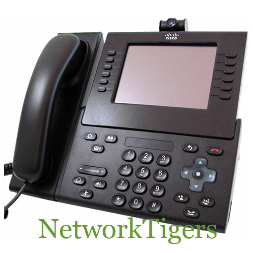 Cisco CP-9971-C-CAM-K9 Unified Color Video IP VoIP Phone w// Camera /& WiFi