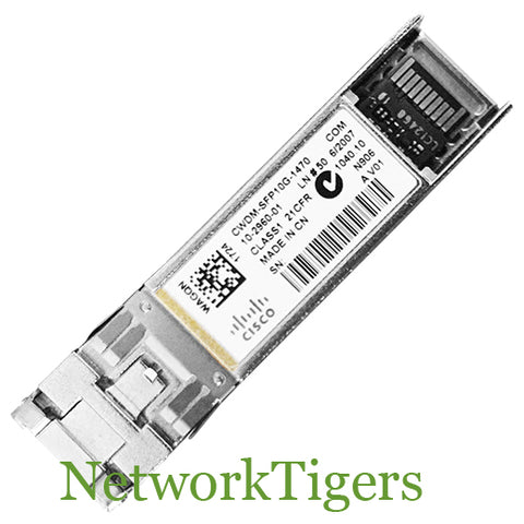 Cisco CWDM-SFP10G-1470 10GB BASE-CWDM Optical SFP+ Transceiver
