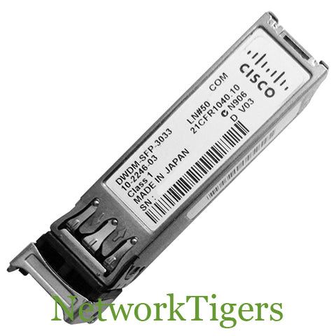 Cisco DWDM-SFP-3033 1GB BASE-DWDM Optical SFP Transceiver