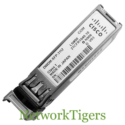 Cisco DWDM-SFP-3112 1GB BASE-DWDM Optical SFP Transceiver