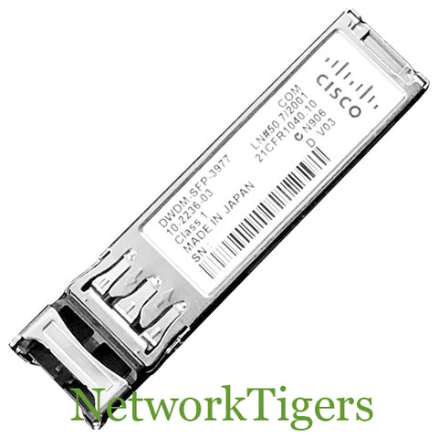Cisco DWDM-SFP-3977 1GB BASE-DWDM Optical SFP Transceiver