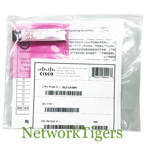 NEW Cisco GLC-LH-SM 1 Gigabit BASE-LX/LH SFP Optical SFP Transceiver
