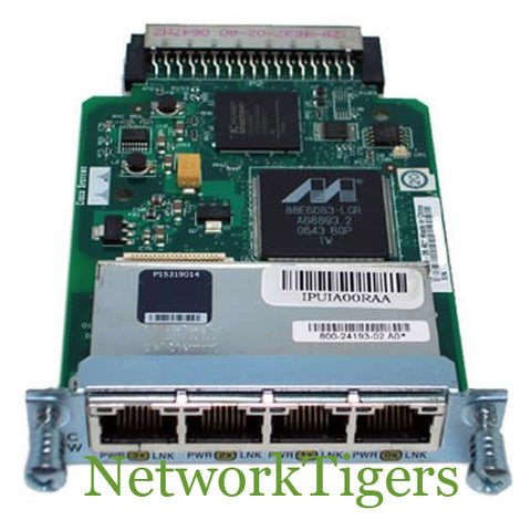 Cisco HWIC-4ESW 4x Fast Ethernet Router WAN Interface Card