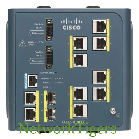 Cisco IE-3000-8TC IE-3000 Industrial Ethernet Series Switch