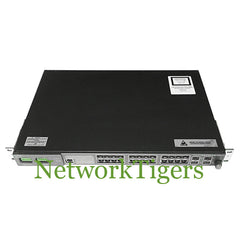 Cisco ME-3400G-12CS-D ME 3400E 12x Gigabit Ethernet Combo 4x SFP DC PSU Switch - NetworkTigers