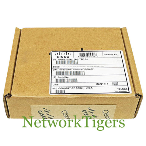 NEW Cisco MEM-2900-2GB 2900 Series 2GB DRAM Router Memory