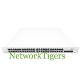 Cisco MS220-48FP-HW 48x Gigabit Ethernet PoE+ 4x 1G SFP+ UNCLAIMED Switch - NetworkTigers