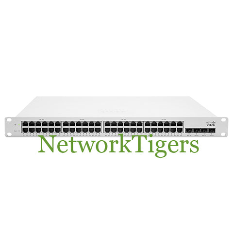 Cisco MS220-48LP-HW MS220 Series 48x GE PoE+ 4x 1G SFP Unclaimed Switch - NetworkTigers