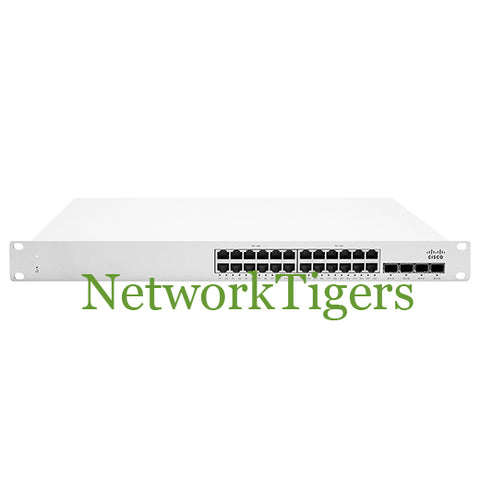 Cisco Meraki MS250-24P-HW MS250 Series 24x GE PoE 4x 10G SFP+ Unclaimed Switch
