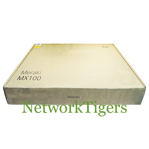 NEW Cisco Meraki MX100-HW 8x 1GB RJ-45 2x 1GB SFP LAN Unclaimed Firewall