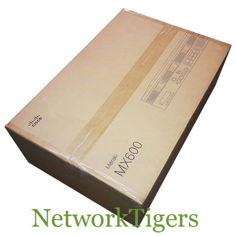 NEW Cisco Meraki MX600-HW MX Series 2 Gbps 4x 1GB RJ-45 Unclaimed Firewall