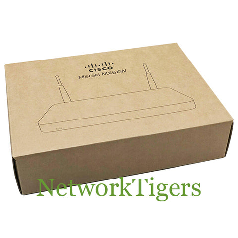 NEW Cisco Meraki MX64W-HW MX Series 250 Mbps 5x GE Unclaimed Firewall