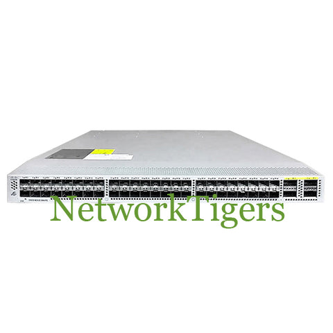 Cisco N3K-C3064PQ-10GE 48x 10GB SFP+ 4x 40GB QSFP+ Front-to-Back Airflow Switch