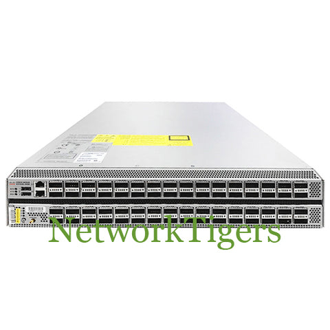 Cisco N3K-C3164Q-40GE Nexus 3100 Series 64x 40 Gigabit Ethernet QSFP+ Switch