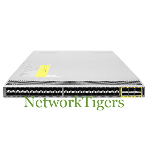 Cisco N3K-C3172PQ-10GE 48x 10GB SFP+ 6x 40GB QSFP+ Front-to-Back Airflow Switch