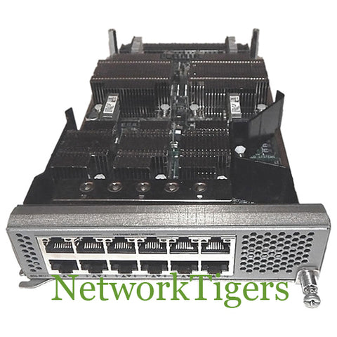 Cisco N55-M12T Nexus 5500 12x 10 Gigabit Ethernet RJ-45 Switch Module - NetworkTigers