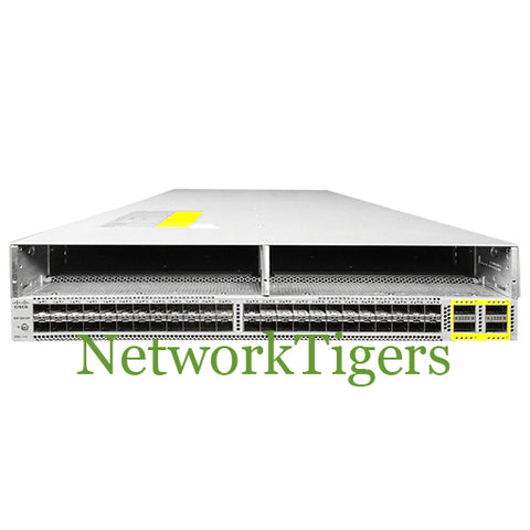 Cisco N5K-C56128P 48x 10G SFP+ 4x 40G QSFP+ 2x Mod Slot Reversed Airflow Switch - NetworkTigers