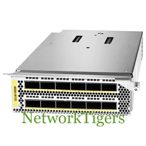 Cisco N6004-M12Q Nexus 6000 Series 12x 40 Gigabit Ethernet QSFP+ Switch Module - NetworkTigers