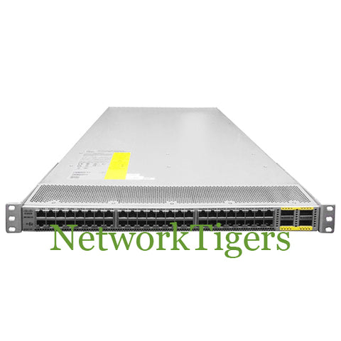 Cisco N6K-C6001-64T Nexus 6000 48x 10 Gigabit Ethernet 4x 40G QSFP+ Switch - NetworkTigers