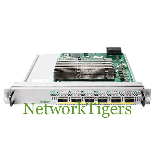 Cisco N9K-M6PQ Nexus 9300 6x 40 Gigabit Ethernet QSFP Switch Module - NetworkTigers