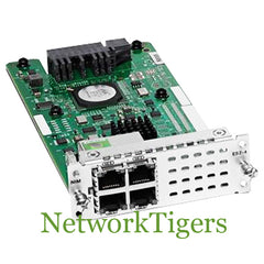 Cisco NIM-ES2-4 4000 Series 4x Gigabit Ethernet RJ-45 Router Interface Module - NetworkTigers