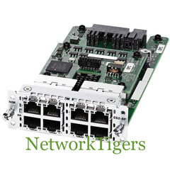 Cisco NIM-ES2-8-P ISR 4000 Series 8x GE PoE+ Layer 2 Router Interface Module - NetworkTigers