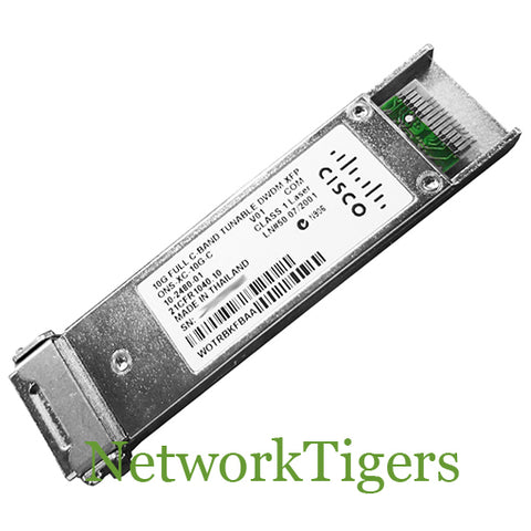 Cisco ONS-XC-10G-C ONS 10G Multirate Full C-Band Tune DWDM XFP Transceiver