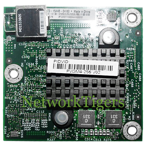 Cisco PVDM4-256 4000 Series ISR 256-Channel High-Density Voice DSP Router Module - NetworkTigers
