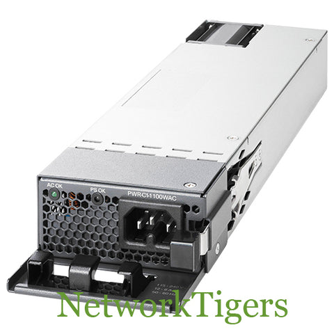 Cisco PWR-C1-1100WAC-P 1100WAC Platinum-Rated Switch Power Supply