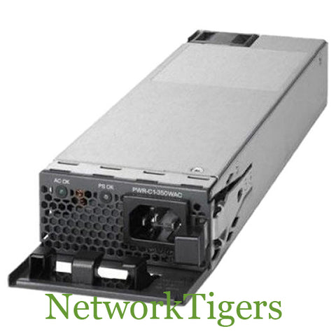 Cisco PWR-C1-350WAC Catalyst 3850 Series 350W AC Switch Power Supply - NetworkTigers