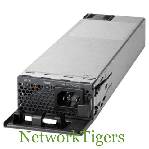 Cisco PWR-C1-715WAC Catalyst 3850 Series AC 715W Switch Power Supply - NetworkTigers