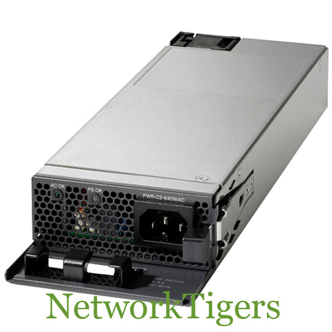 Cisco PWR-C2-640WAC Catalyst 2960-X Series 640W AC Switch Power Supply - NetworkTigers