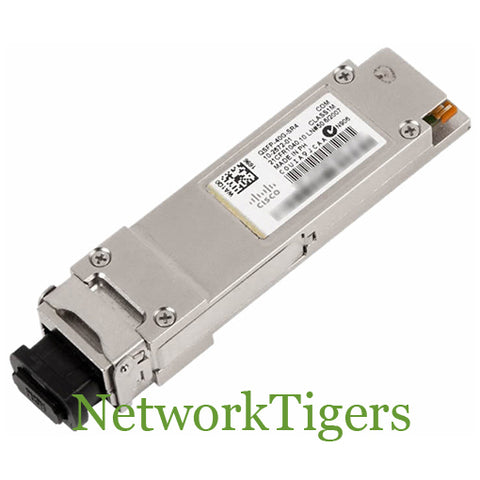 Cisco QSFP-40G-SR4 40 Gigabit BASE-SR4 QSFP+ Optical Transceiver - NetworkTigers